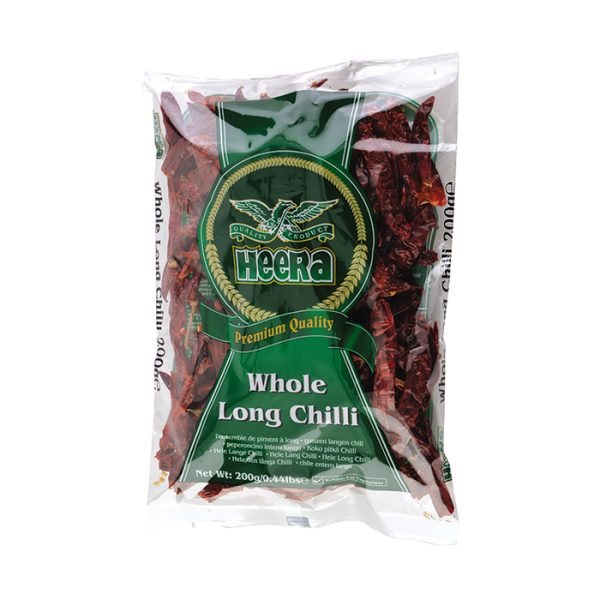 Heera Chilli Whole 200g