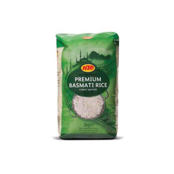 KTC Premium Basmati Rice 2kg
