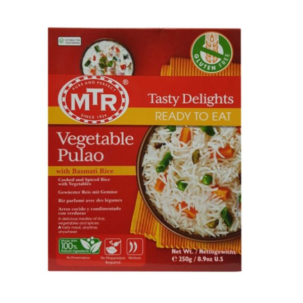 MTR Ready To Eat Vegetable Pulao Rice