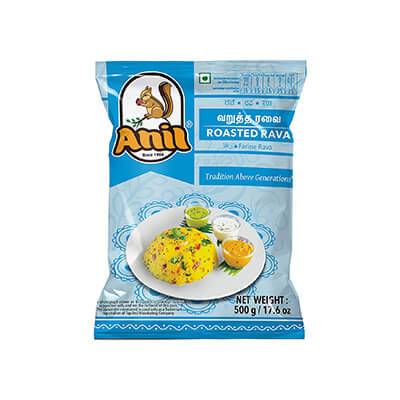 anil roasted rava 500g