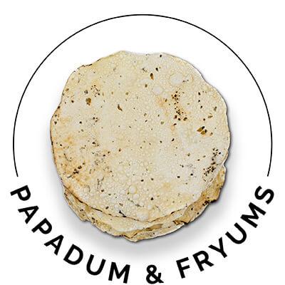 Papadum & Fryums